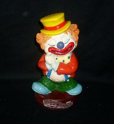 Vintage 1985 Big Top Bonanza Del Monte Clown Circus Money Coin Bank W/ Stopper • 13.98£