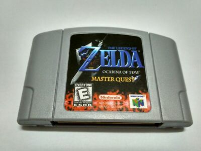 $18.21 • Buy N64 Game The Legend Of Zelda Ocarina Of Time Master Quest Video Game Cartridge