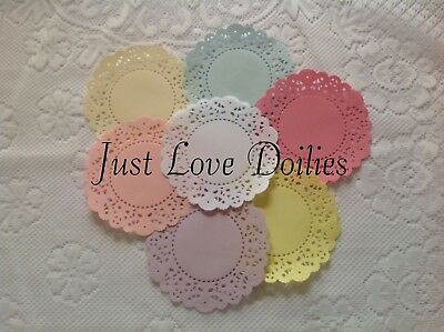 Pack Of 10 Small Cheery Lynn French Pastry PAPER Doilies. *PLEASE READ LISTING* • 1.99£