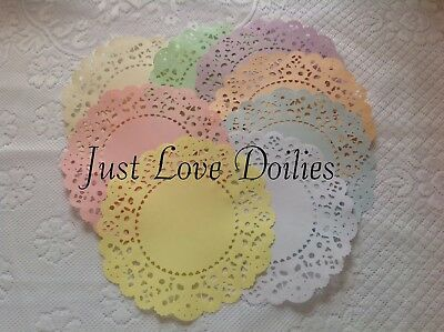 Pack Of 10 Large Cheery Lynn French Pastry PAPER Doilies. *PLEASE READ LISTING* • 2.50£