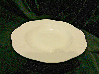 Villeroy & Boch Arco Weiss Rimmed Soup Bowl German Bone China 9.5  SS • 20.75£
