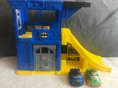 Fisher Price Little People Bat Cave DC Comics Batman Car Ramp Hard To Find Toy! • 25.74£