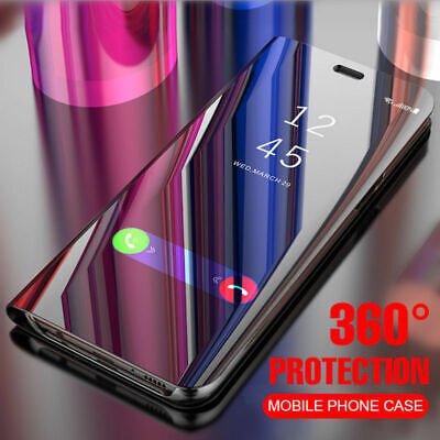 AU9.99 • Buy For Samsung Galaxy S8 S9 S9+ S10 Plus S10e Note 8 9 Mirror Flip Clear Case Cover