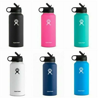 $26.09 • Buy Hydro Flask Wide Mouth Stainless Steel Bottle With Cap Multicolor 18/32/40oz