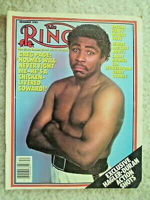 $1.99 • Buy The Ring Magazine December 1983 Greg Page Cover