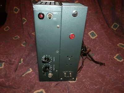 $ CDN318.91 • Buy Vintage 1957 RCA Tube Amplifier Project W/ Tubes Triplet Of 6V6's 5Y3 Rectifier