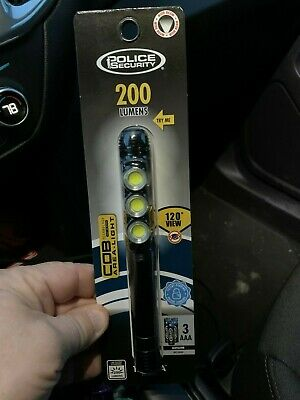 $7.49 • Buy 100% New Police Security 98063 200 Lumen Flashlight Super Bright Must See !!!