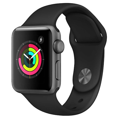 $ CDN177.92 • Buy Apple Watch Series 1 42mm Space Gray Case - Black Sport Band