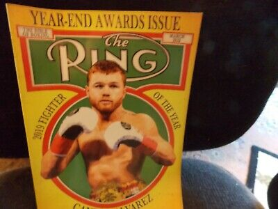 $6.50 • Buy Ring Magazine March 2020 Latest Issue-Canelo On Cover