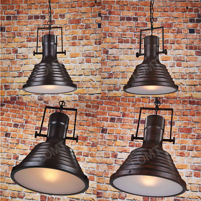 £29.99 • Buy Ceiling Stage Diffused Lights Large Retro Farmhouse Warm Pendant Rustic Bell New