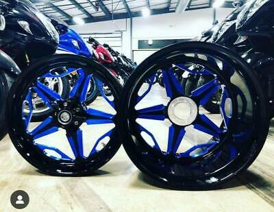 $3399.99 • Buy BLACK AND BLUE 240 SPEED STAR WHEELS FOR 2001-2004 Suzuki GSXR 1000