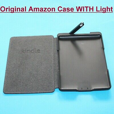 Official / Genuine Amazon Kindle 4 Kindle 5 Black Leather Lighted Cover Case  • 16.99£