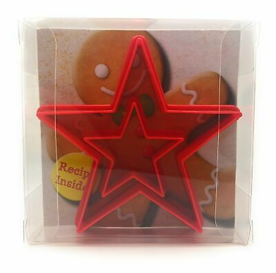 Star Cookie Cutter Set Of 2, Biscuit, Pastry, Fondant Cutter • 2.99£