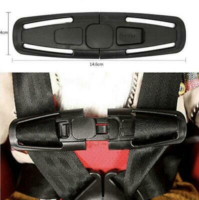 Car Baby Safety Seat Strap Belt Harness Chest Child Clip Safe Buckle UK • 2.99£