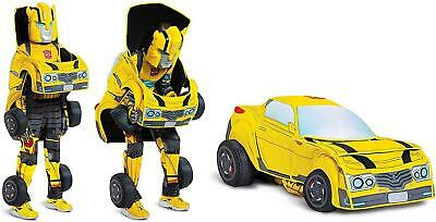 $51.94 • Buy Transformers Child Bumblebee Size M 7/8 Boys Converting Costume Disguise 7ET8zq1