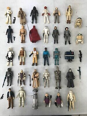 $ CDN159.77 • Buy Star Wars Vintage Kenner 32 Figure Lot Accesories Etc All Original Authentic