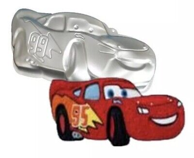 3D Lightning McQueen Car Cake Pan Tin Mould Sugarpaste Decorating Tools Aluminum • 11£