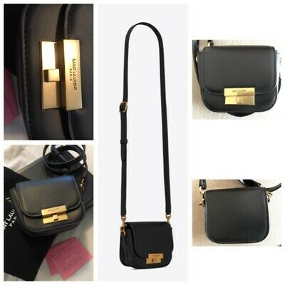 AU950 • Buy Authentic Ysl Betty Mini Leather Crossbody Bag  Rrp$1920