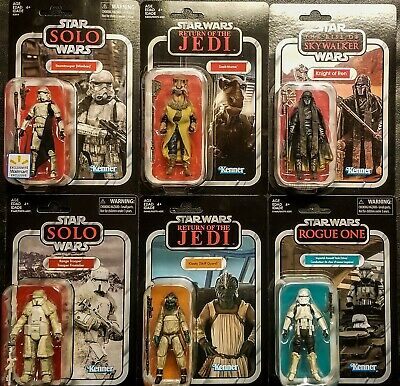 $ CDN66.52 • Buy STAR WARS Vintage Collection 6 Figure Lot Vc126,135,128,155,123,132