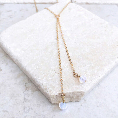 AU6.86 • Buy Chain Long Crystal Choker Necklace For Women Summer Chock Jewelry SO
