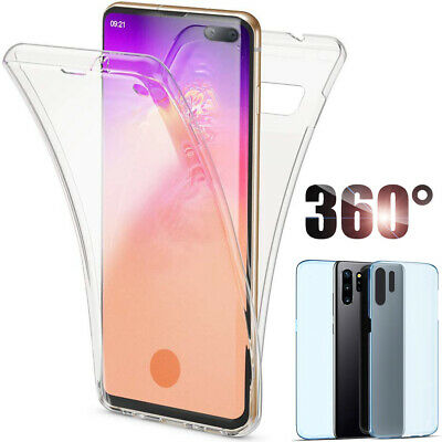 $ CDN3.51 • Buy 360° Transparent Clear Phone Case Cover For Samsung A51 A71 A81 A91 S10 S20 Plus