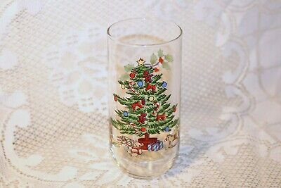 $24.99 • Buy Tienshan HOLIDAY HOSTESS China 2 3/4 D X 6 H 14 Oz Water Drinking Glasses (4)