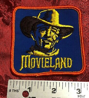 $2.01 • Buy PATCHES Vintage John Wayne Movieland California