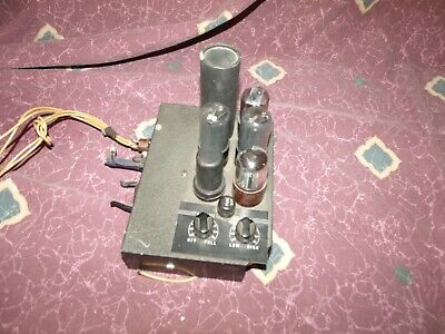 $ CDN131.03 • Buy Vintage 1950's Tube Amplifier Project W Tubes (2)25L6GT 25Z6 6SJ7 RCA Sylv 6SL7W