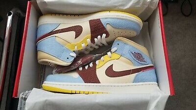 $260 • Buy Air Jordan 1 Mid SE Fearless X Maison Chateau Rouge Size 10 Brand New OFFICIAL!