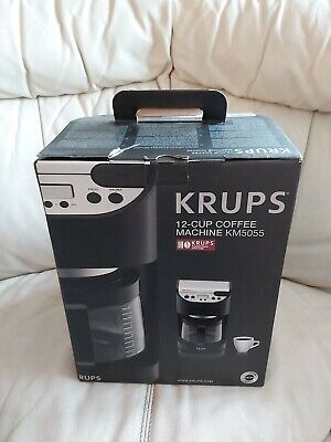View Details KRUPS Model KM5055 Electric Automatic 12-CUP Filter Coffee Machine Maker • 54.99£