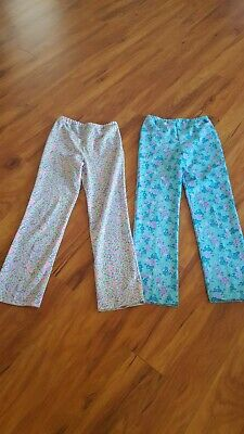 $9.99 • Buy THE LILLY PULITZER SPORTSWEAR  2 PAIRS OF Elastic Waist Stretch Pants Size Small