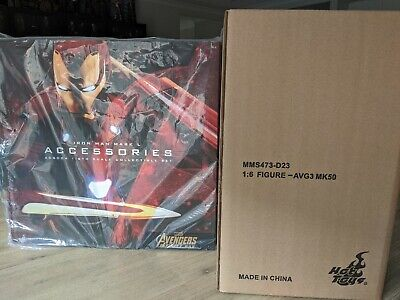 AU960 • Buy Hottoys Mark 50 + Mark 50 Accessories Set NEW UNOPENED