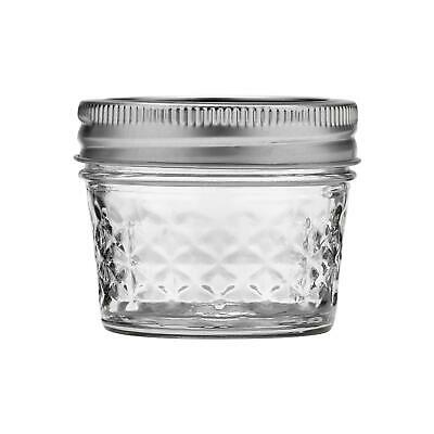 $34.29 • Buy Ball 4-Ounce Quilted Crystal Jelly Jars With Lids And Bands, Set Of 12-2 Pack