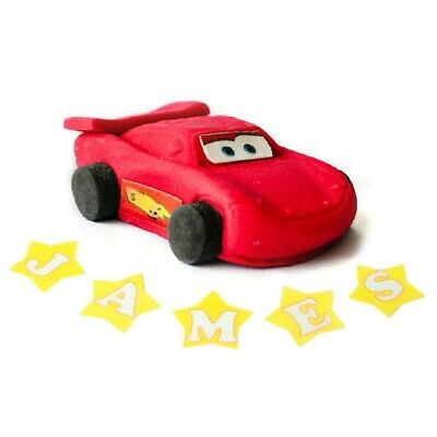 Cake Toppers Edible Party Decorations  Mcqueen Birthday Icing • 3.99£