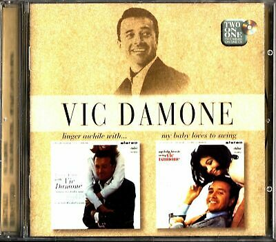 £3.49 • Buy Vic Damone Linger Awhile With / My Baby Loves To Swing CD - FAST FREE UK P&P