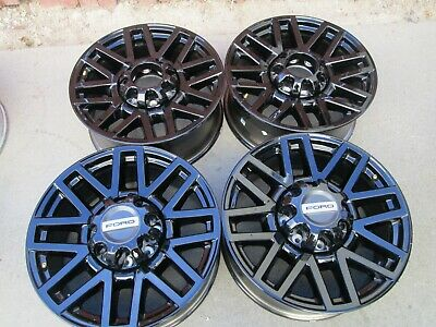 $1195 • Buy 20  FORD F250 F350 FACTORY WHEELS RIMS BLACK OEM 4