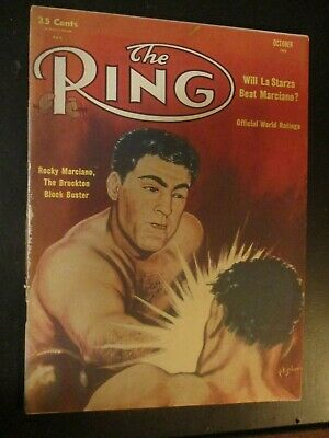$9 • Buy The Ring Magazine October 1953 Rocky Marciano Cover