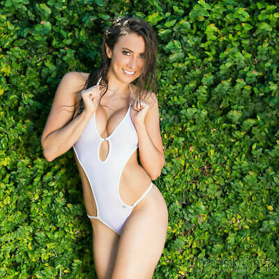 $ CDN81.01 • Buy HOT WICKED WEASEL 819 Sheer Vision WHITE ONE PIECE Size LARGE - BNWT