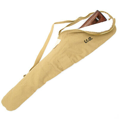 $36.95 • Buy U.S. WWII Fleece Lined M1 Carbine Case With Carry Strap - Marked U.S.