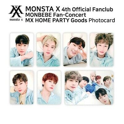 $ CDN32.74 • Buy MONSTA X 4th Official Fanclub MONBEBE FANCON MX HOME PARTY Official Photocard