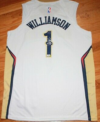 $299.95 • Buy Zion Williamson No Pelicans Signed Auto Authenticated Basketball Jersey Coa