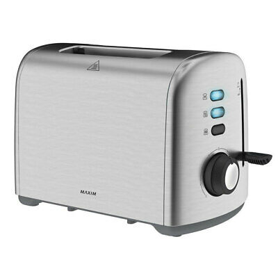 AU49.95 • Buy Maxim KitchenPro 2 Slice/Slots Automatic Bread Toaster Stainless Steel Silver