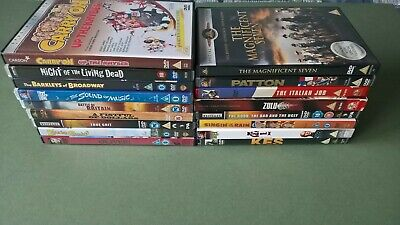 Various 40's, 50's, & 60's Films DVD's - Western, War, Musicals  • 3£