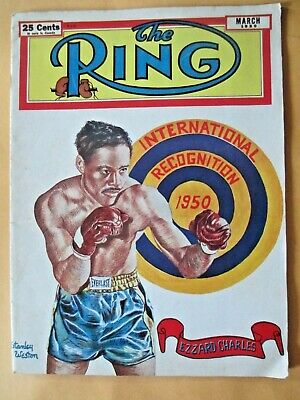 $8.99 • Buy The Ring Magazine March, 1950  Ezzard Charles