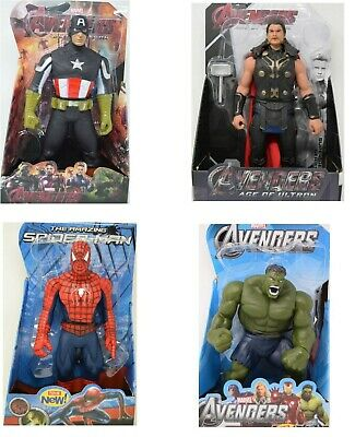 £13.99 • Buy 12  Action Figure Super Hero Avengers Series - Choice Of 4 Super Heroes - New
