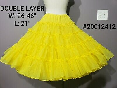 $15 • Buy Gorgeous Bright Canary Yellow Crinoline Petticoat Stiff Full