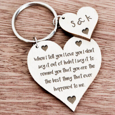 AU11.05 • Buy Birthday Anniversary Valentines Day Gift For Husband Wife Gifts For Him Her K65