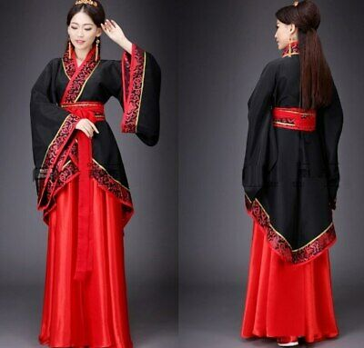 $ CDN33.93 • Buy Hanfu Chinese Traditional Costumes Embroidery Oriental Chinese Style Princess