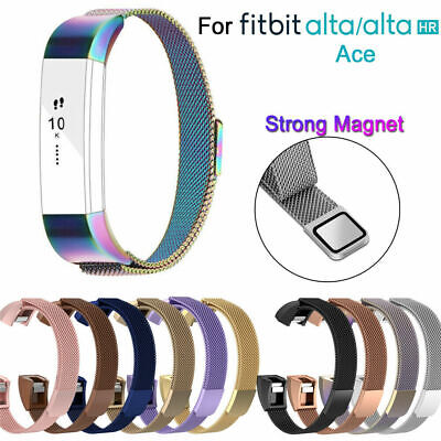$ CDN22.99 • Buy NEW Replacement Metal Band Strap Magnetic Steel Wristband For Fitbit Alta HR ACE