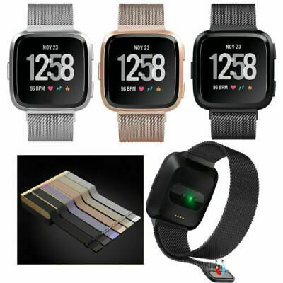$ CDN19.99 • Buy Stainless Steel Magnetic Wrist Band Compatible For Fitbit Versa 2 / Versa /Lite